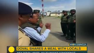Wion Dispatch: NSA Ajit Doval in Jammu & Kashmir