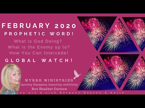 February Prophetic Word! and  Global Prayer Watch!Get Ready for  INCREASE