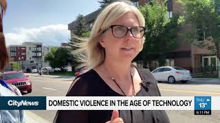 How advancements in technology affect domestic violence