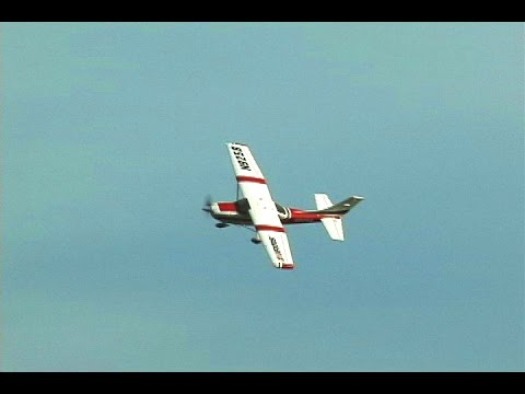 FMS Sky Trainer Cessna 182 1100mm with Killer Planes Supermax Crashproofing Installed - UCXbuNTI0Q06E91YI5dHNuTg
