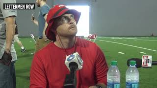 Matt Barnes: Ohio State assistant following Buckeyes second 2019 football practice