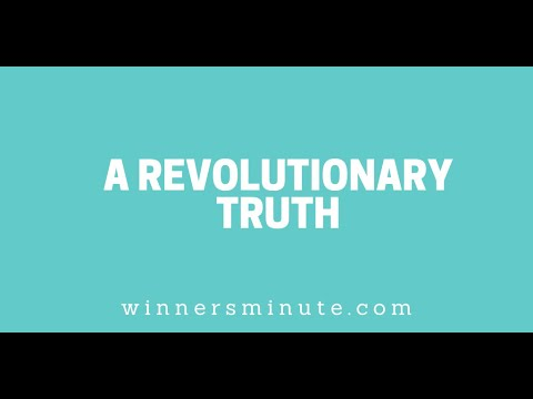 A Revolutionary Truth // The Winner's Minute With Mac Hammond