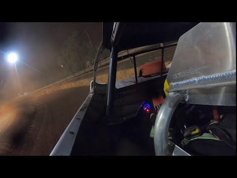(Hard Crash) Hoyt Partain in car at Lavonia speedway - dirt track racing video image