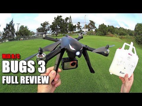 MJX BUGS 3 - Full Review - [Unbox / Setup / Flight Test / Pros & Cons] - UCVQWy-DTLpRqnuA17WZkjRQ