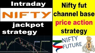 #Nifty Fut #intraday nifty fut channel base price action strategy #Nifty no loss #nifty jackpot