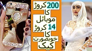 13 Crore Ka Cake | Top 5 Most Expensive Things In The World Urdu/Hindi | Nimi Facts