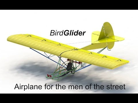 BirdGlider, the low budget airplane - UCf6hZXDiZ2rpnio4woya8ug