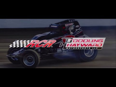 Dooling/Hayward Motorsports and Richard Childress Racing have teamed up to compete in USAC in 2018. - dirt track racing video image