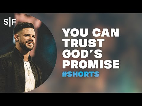 You Can Trust God's Promise #Short  Steven Furtick