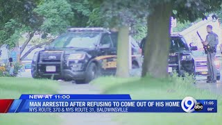 Baldwinsville Police arrest man after he allegedly threw fireworks at neighbors