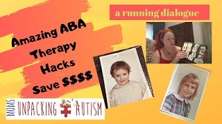 SECRET ABA Hacks save $ - Moms Unpacking Autism