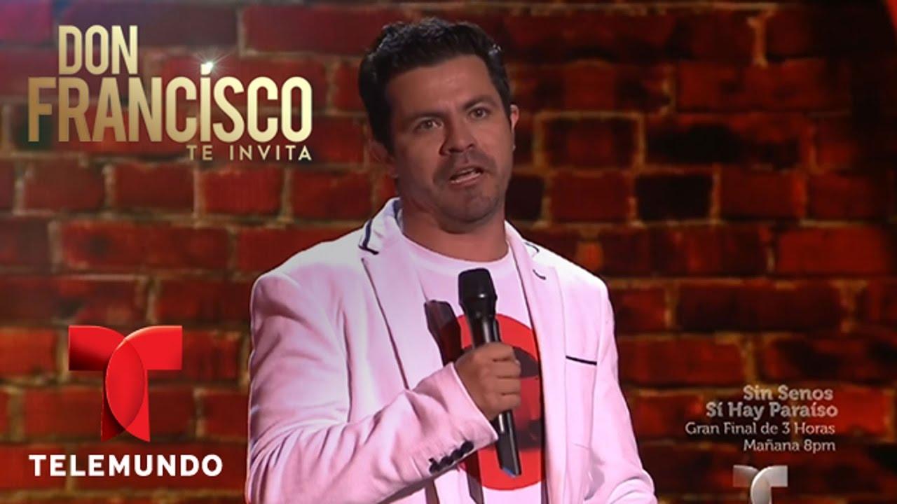 Don Francisco Te Invita | Comediante colombiano saca carcajadas en DFTI | Entretenimiento