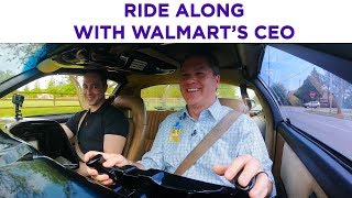 Walmart CEO talks same-day delivery and autonomous vehicles