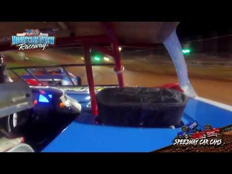 Winner #18 Cafe Crutchfield - Mini Late Model - Mountain View Raceway 5-15-21 - InCar Camera - dirt track racing video image