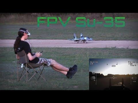 SU-35 Exciting FPV Flights! - HD 50fps - UC5e-RaHpmEaLxJ6FP24ea7Q