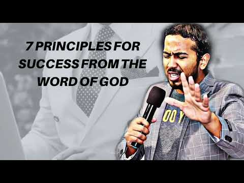 7 PRINCIPLES FOR SUCCESS FROM THE WORD OF GOD, FRIDAY FINANCIAL PRAYERS FROM THE BIBLE