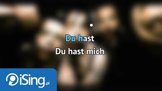 Du hast (karaoke iSing)