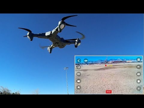 Tianqu Visuo XS816 Long Flying Optical Tracking FPV Camera Drone Flight Test Review - UC90A4JdsSoFm1Okfu0DHTuQ