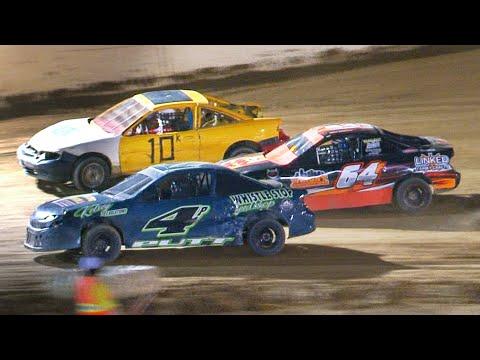 Mini Stock Feature | Bradford Speedway | 8-6-21 - dirt track racing video image