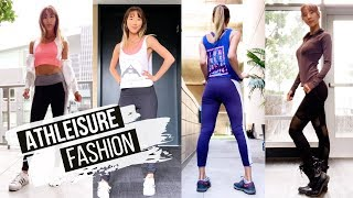 I Tried Athletic Clothes as Everyday Fashion · ATHLEISURE HAUL!   YB Chang