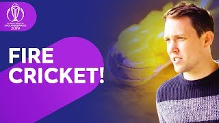 Fire cricket with Chris Stark!