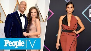 Dwayne 'The Rock' Johnson Weds Longtime Girlfriend, Shay Mitchell Reveals Due Date | LIVE | PeopleTV