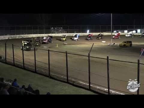 OCRS Highlights Caney Valley Speedway 10 23 21 - dirt track racing video image
