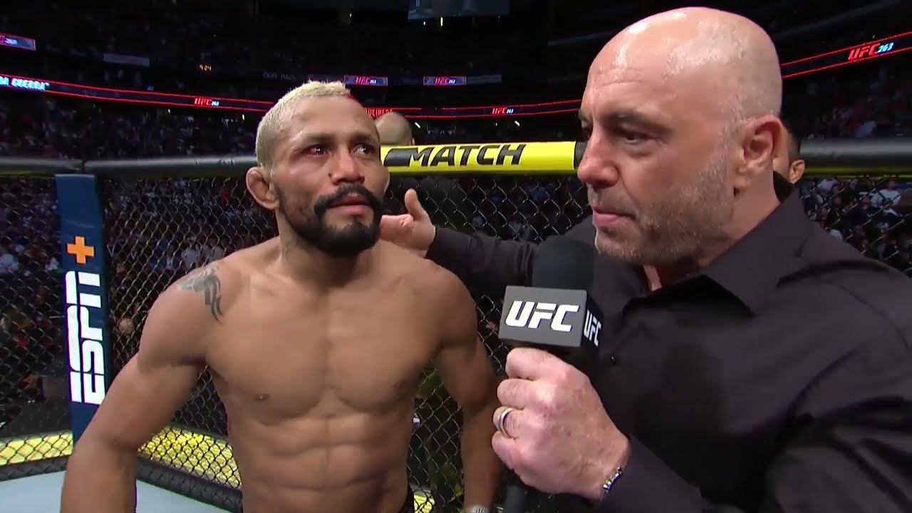 UFC 263: Deiveson Figueiredo Octagon Interview