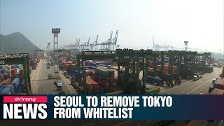 S. Korea decides to remove Japan from its whitelist