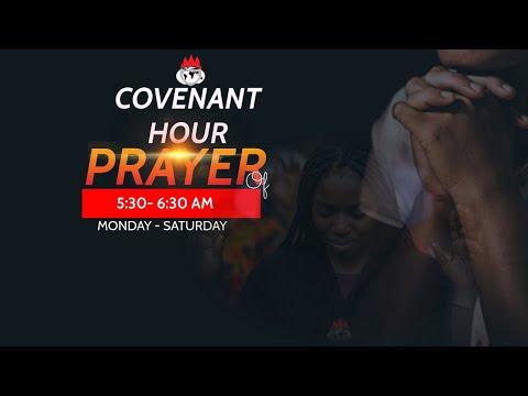 DOMI STREAM: COVENANT HOUR OF PRAYER  24 JULY 2021  FAITH TABERNACLE