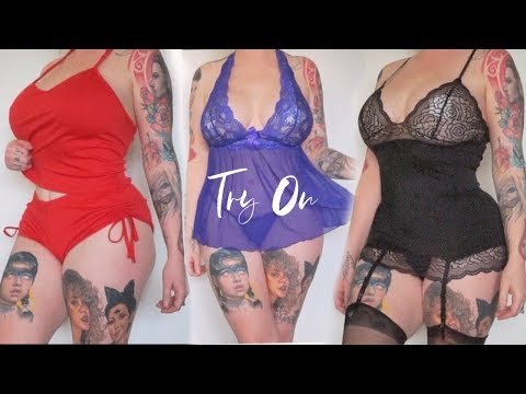 SEXY Lingerie Try-On Haul  - UCcZ2nCUn7vSlMfY5PoH982Q