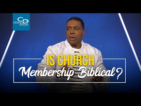 Is Church Membership Biblical? - Wednesday Service