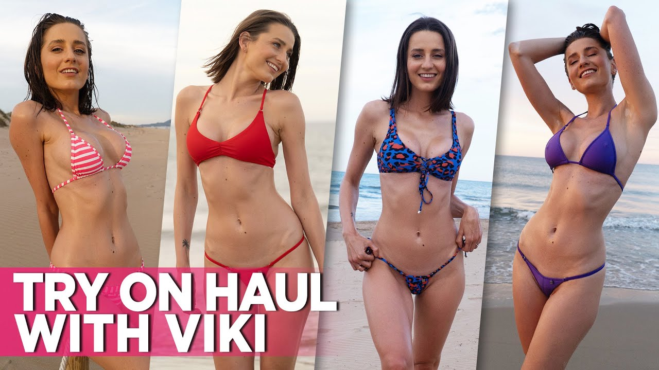 From Spain With Love: Sexy Viki's Wicked Weasel Bikini Try On Haul Video