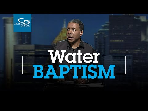 Water Baptism - Wednesday Service