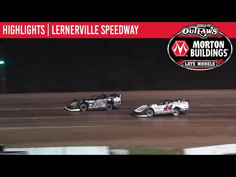 World of Outlaws Morton Building Late Models at Lernerville Speedway June 24, 2021   HIGHLIGHTS - dirt track racing video image