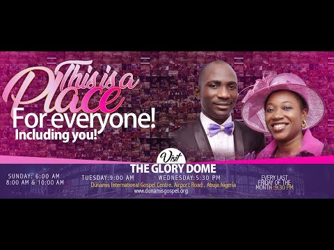 LIVE FROM THE DUNAMIS GLORY DOME: MID-WEEK MESSAGE 25.03.2020