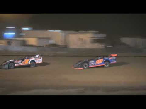 Super Late Model A-Main from Portsmouth Raceway Park, June 26th, 2021. - dirt track racing video image