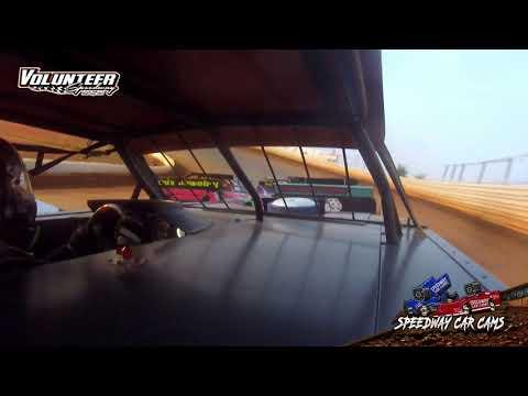 #12 Eric Moore - Street Stock - 8-1-21 Volunteer Speedway - In-Car Camera - dirt track racing video image