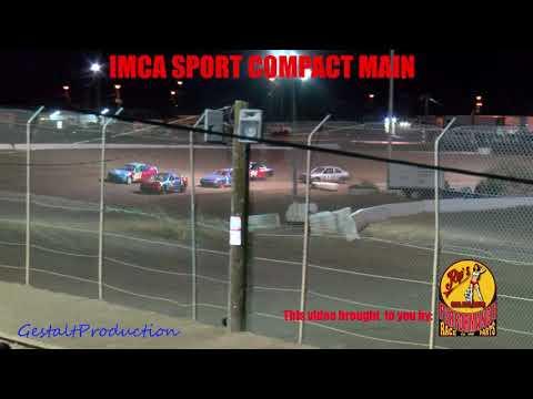 Canyon Speedway Park  IMCA Sport Compact Main   April 10 2021 - dirt track racing video image