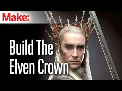 The Hobbit: Build Thranduil's badass Elven crown - UChtY6O8Ahw2cz05PS2GhUbg