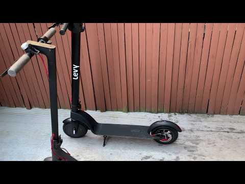 Xiaomi M365 vs Levy Electric scooter follow up review