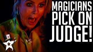 Magicians Choose Amanda Holden on Britain's Got Talent 2019 | Magicians Got Talent