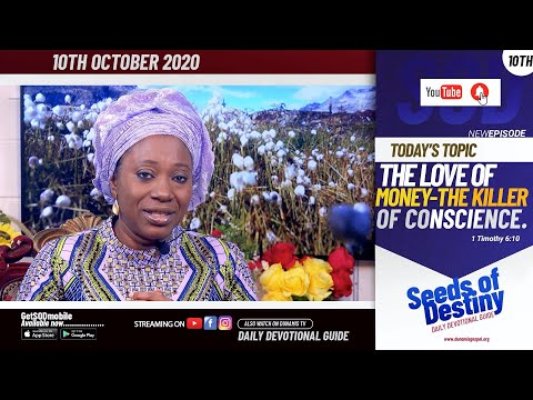 Dr Becky Paul-Enenche - SEEDS OF DESTINY - SATURDAY OCTOBER 10, 2020