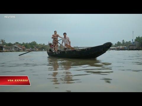 Đồng bằng sông Cửu Long có thể bị nhận chìm trước 2100 (VOA)