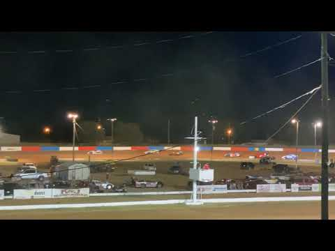 Enid Speedway Sport Mod A-Feature 09/11/2021 Kyle Wiens #18 - dirt track racing video image