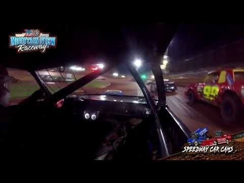 #4 AJ Smith - Thunder - 9-11-21 Mountain View Raceway - In-Car Camera - dirt track racing video image