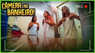 ELAS NÃO SABIAM QUE TINHA UMA CÂMERA NO BANHEIRO DA CASA!! [ REZENDE EVIL ]