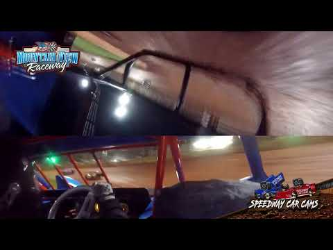 #87 Josh Holt - Mini Late Model - Mountain View Raceway 5-15-21 - InCar Camera - dirt track racing video image