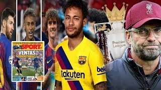 MC WAAW Fantastic Four Neymar & dalabkii Cuslaa gudbisay Barca & Xogaha cusub & liverpool