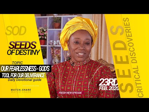 Dr Becky Paul-Enenche - SEEDS OF DESTINY - SUNDAY 23RD FEBRUARY, 2020